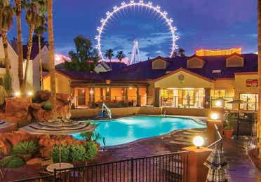 Watering Hole pool at Desert Club Resort.