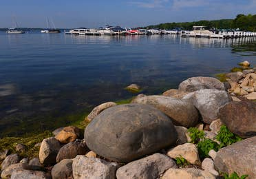 Shore Path near Lake Geneva Resort in Wisconsin.
