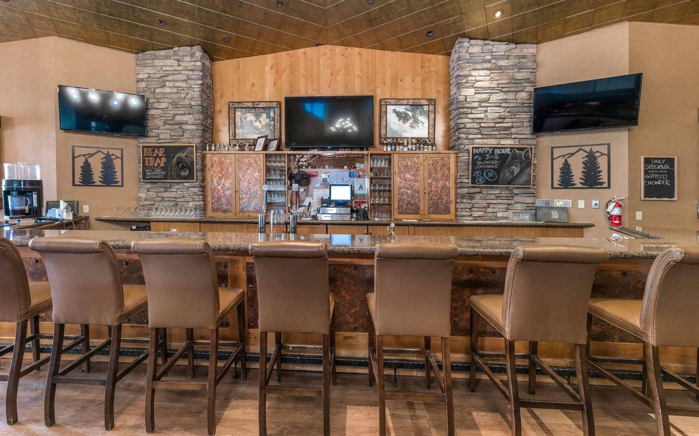 Beartree Bar at Tahoe Ridge Resort in Stateline, Nevada,