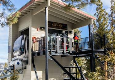 Skier Express at Tahoe Ridge Resort in Stateline, NV.
