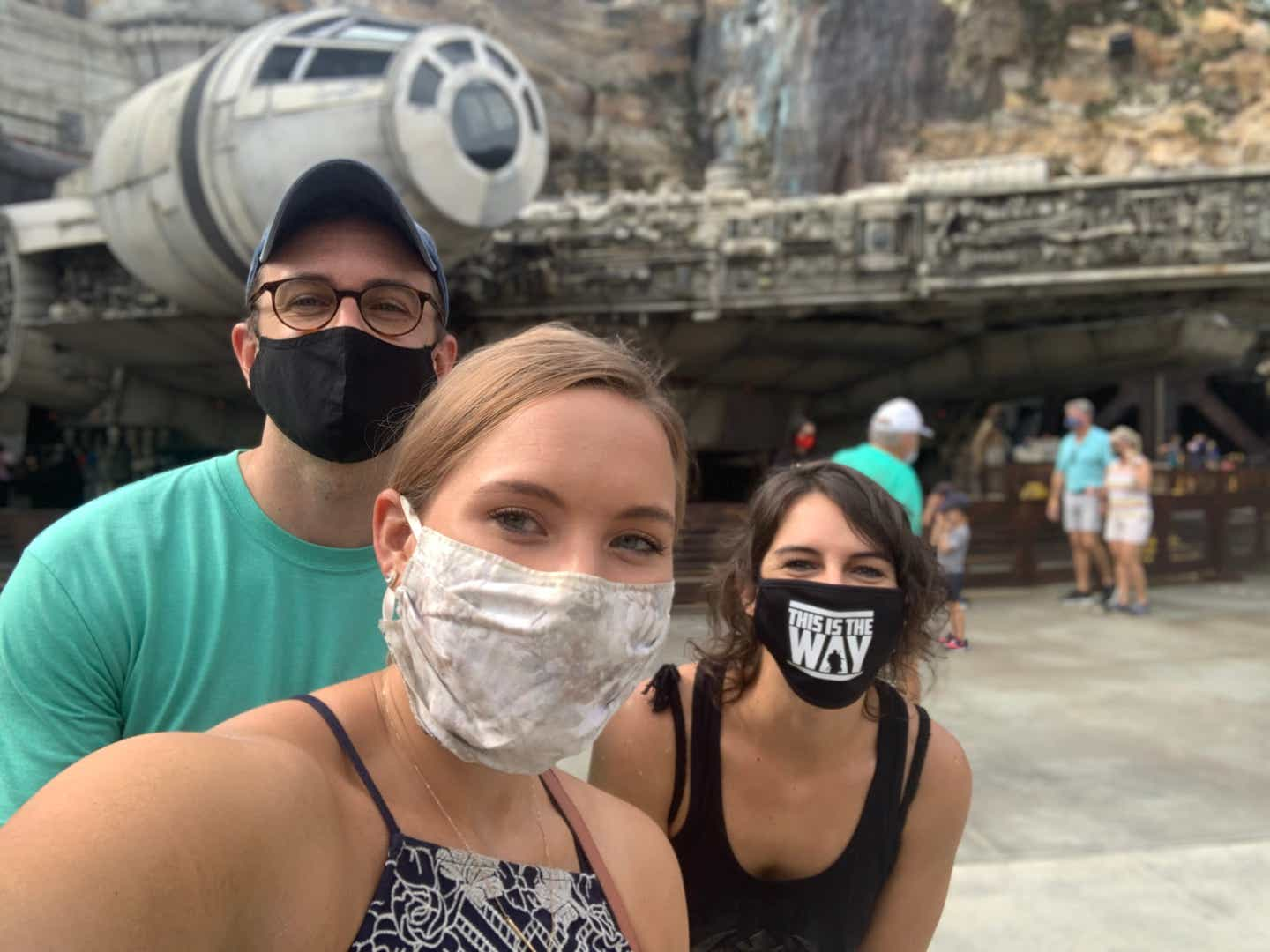 Kelly taking a selfie with James and his sister