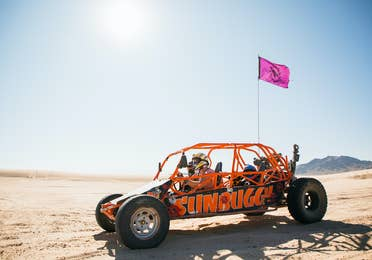 SunBuggy & ATV Fun Rentals near Desert Club Resort in Las Vegas, Nevada.