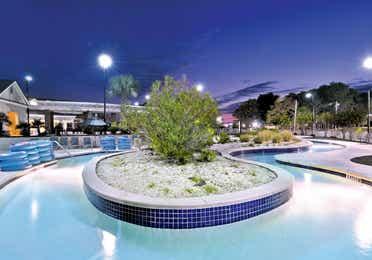 Lazy river at the pool at South Beach Resort