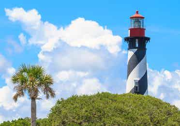 St. Augustine Lighthouse near Orange Lake Resort in Orlando, Florida