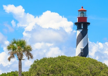 St. Augustine Lighthouse near Orange Lake Resort in Orlando, Florida