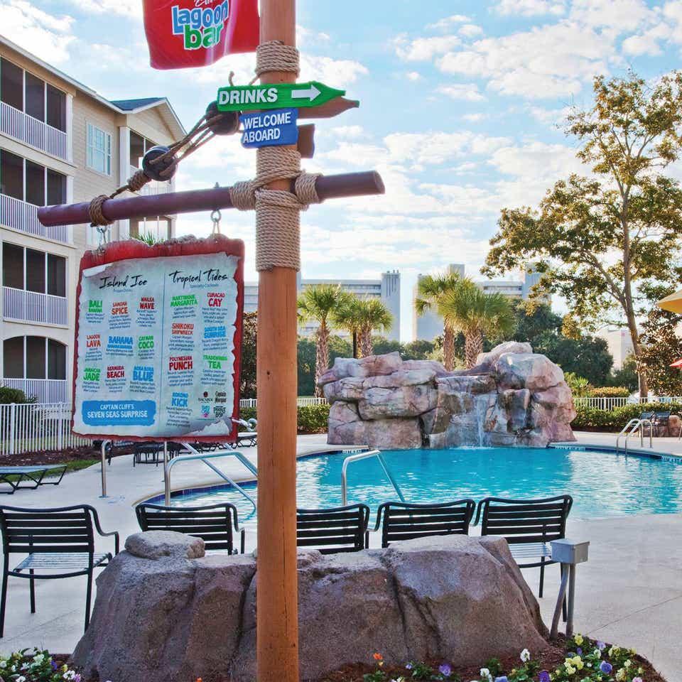 Captain Cliff's Lagoon Bar at South Beach Resort in Myrtle Beach, SC