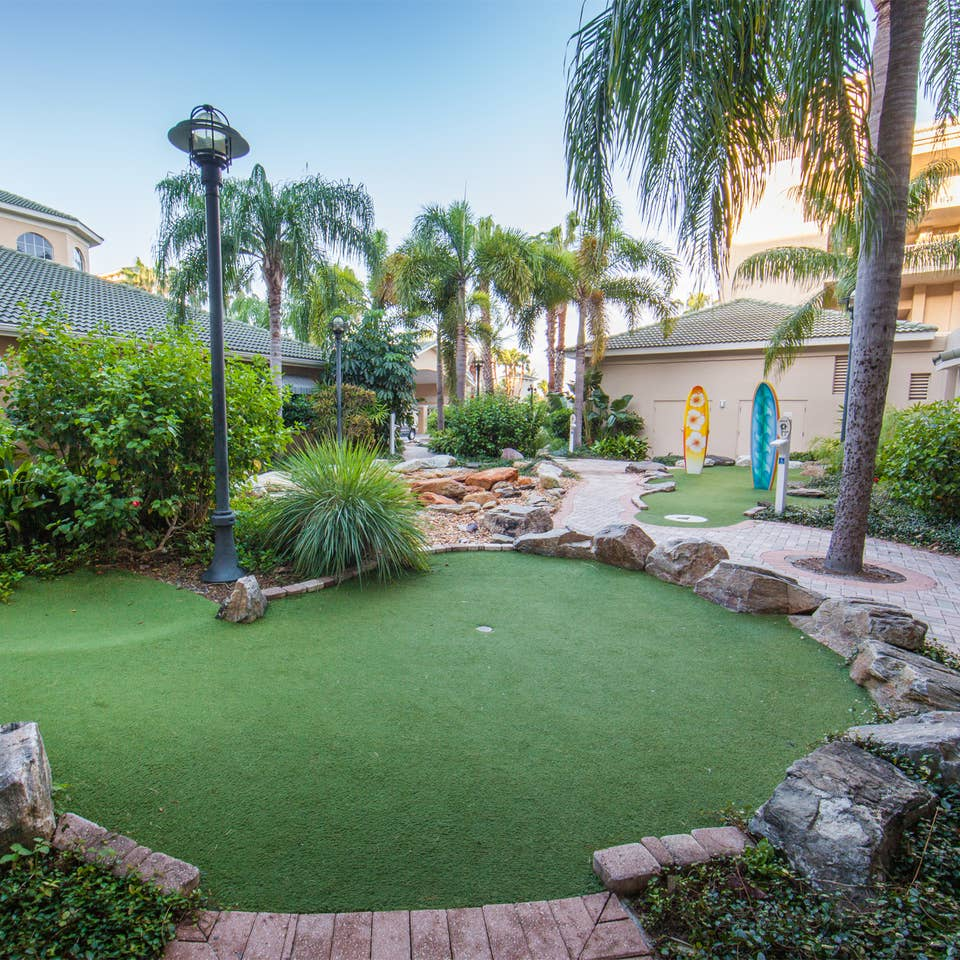Mini golf course at Cape Canaveral Beach Resort.