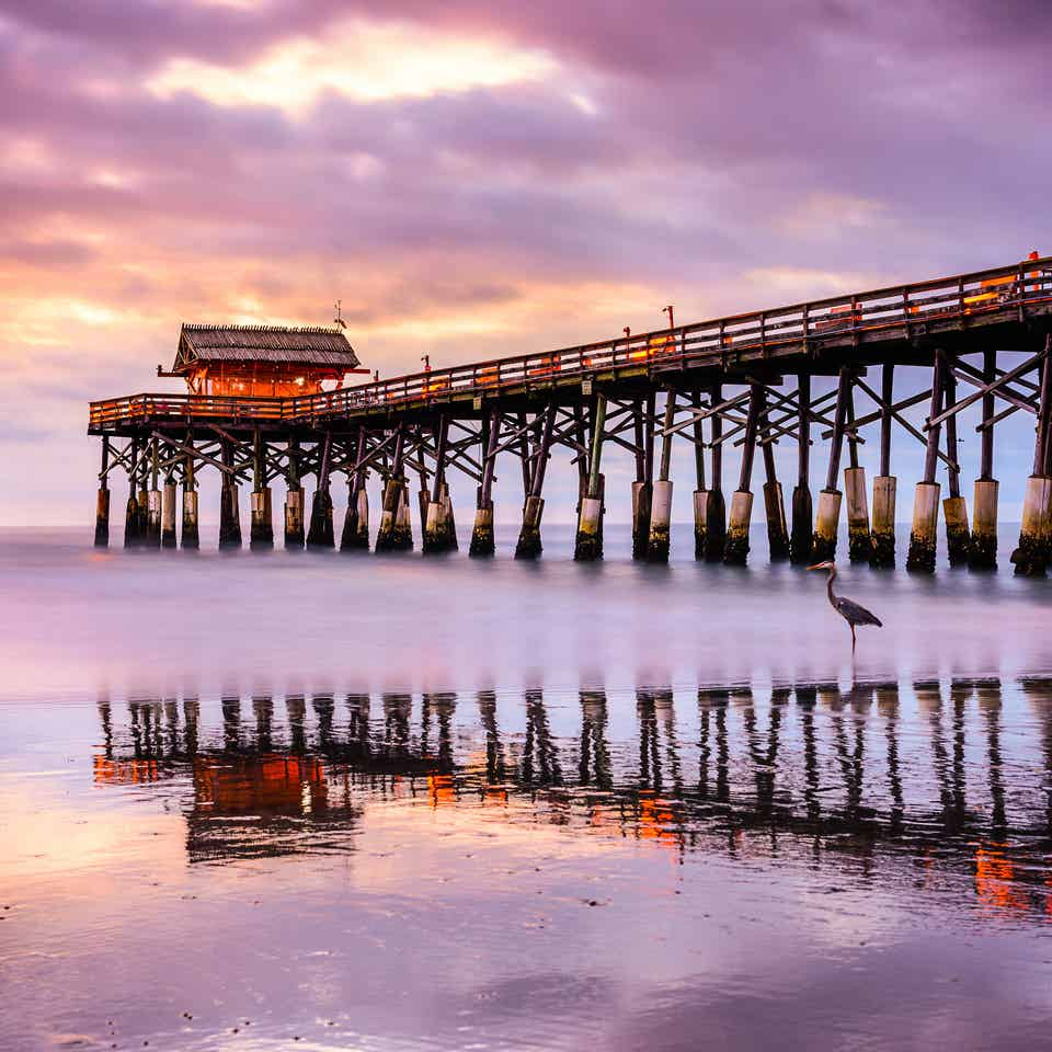 Cocoa Beach Pier near Orange Lake Resort in Orlando, Florida