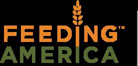 The Feeding America orange and green logo
