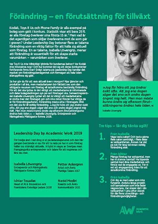 academicwork/leadershipday/förändring/IsabellaLöwengrip
