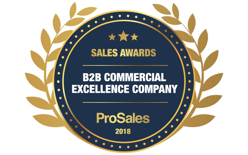 Årets B2B Commercial Excellence Company 2018