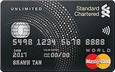 Standard Chartered Unlimited Credit Card & Credit Card Funds Transfer