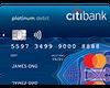 Citibank Debit Mastercard