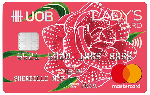 UOB Lady's Card | The Best Credit Cards for Women in Singapore | magazine.vaniday.com