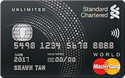 Standard Chartered Unlimited Credit Card