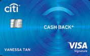 Citi Cash Back+ Card