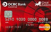 OCBC Great Eastern Cashflo Credit Card