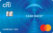 Citi Cash Back+ Mastercard®