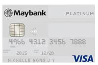 Maybank Visa Card