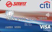 Citi SMRT Platinum Visa Card