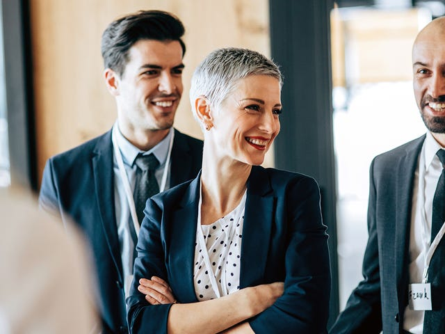 Woman learning how to become a successful leader