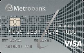 metrobank platinum travel visa