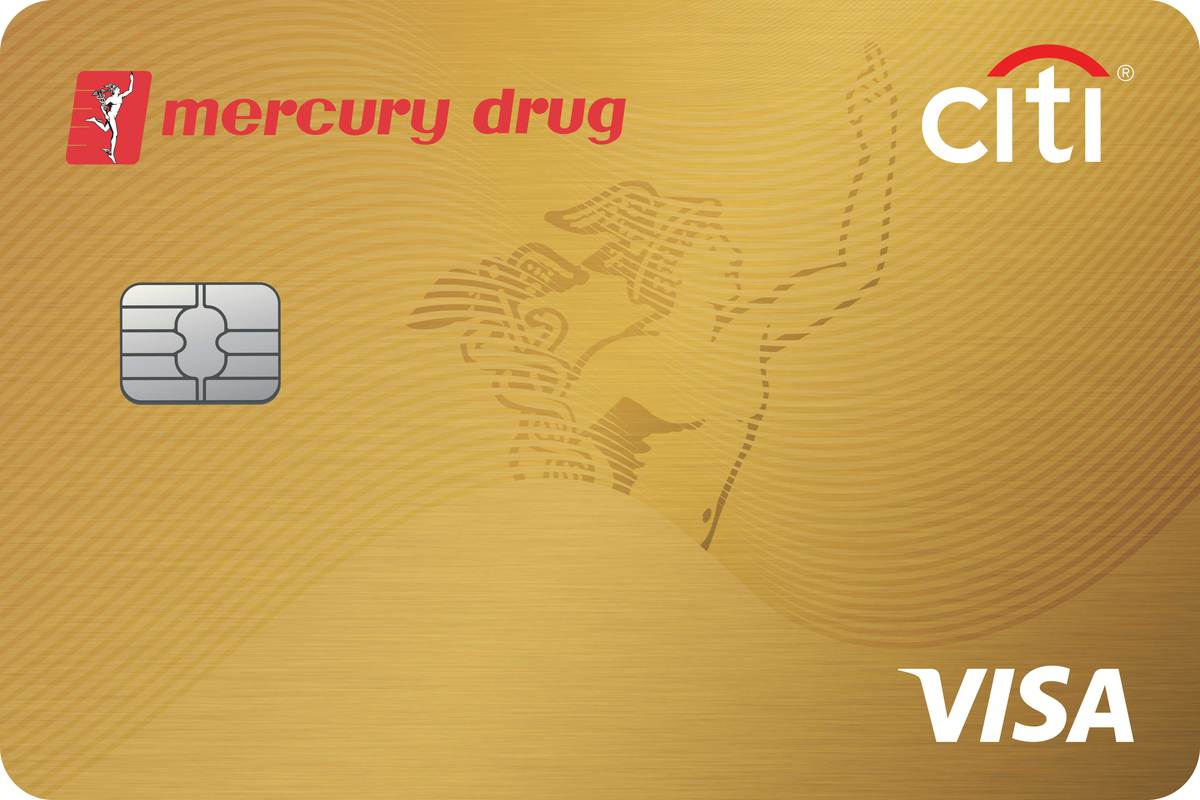 citibank mercury drug gold visa
