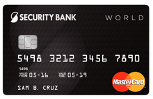 Security Bank Credit Card | Compare Credit Cards at Moneymax