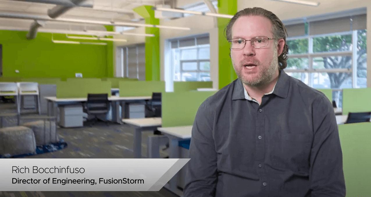 Mit FusionStorm Managed Cloud Services powered by OVHcloud erzielen Kunden eine schnellere Wertschöpfung.