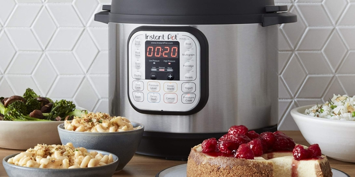 Instant Pot With Cheesecake