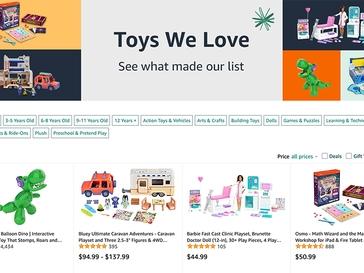 Amazon Toy List 2021 from BlackFriday.com