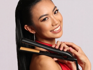 """A Review of the CHI Original Ceramic 1"""" Hairstyling Iron"""