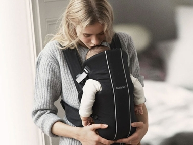 A Review of the Baby Bjorn Carrier