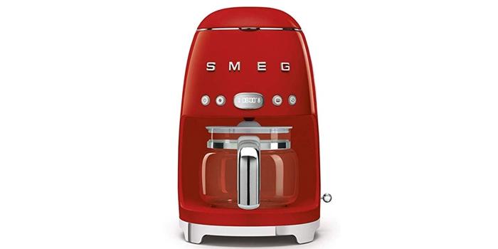 Smeg Drip Coffee Maker Red