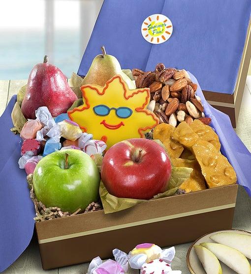 Summer Fun Fresh Fruit & Snacks Gift Box