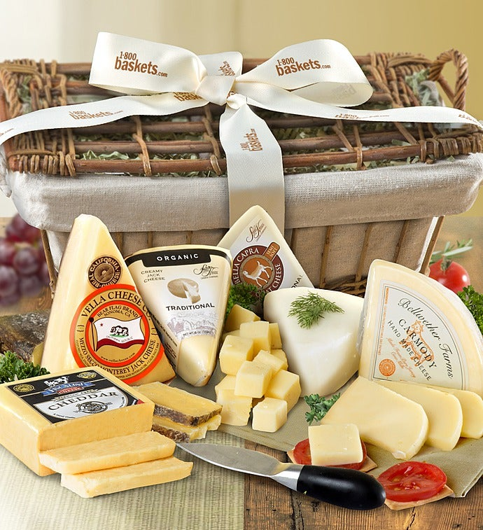 Premium Cheese Gift Basket