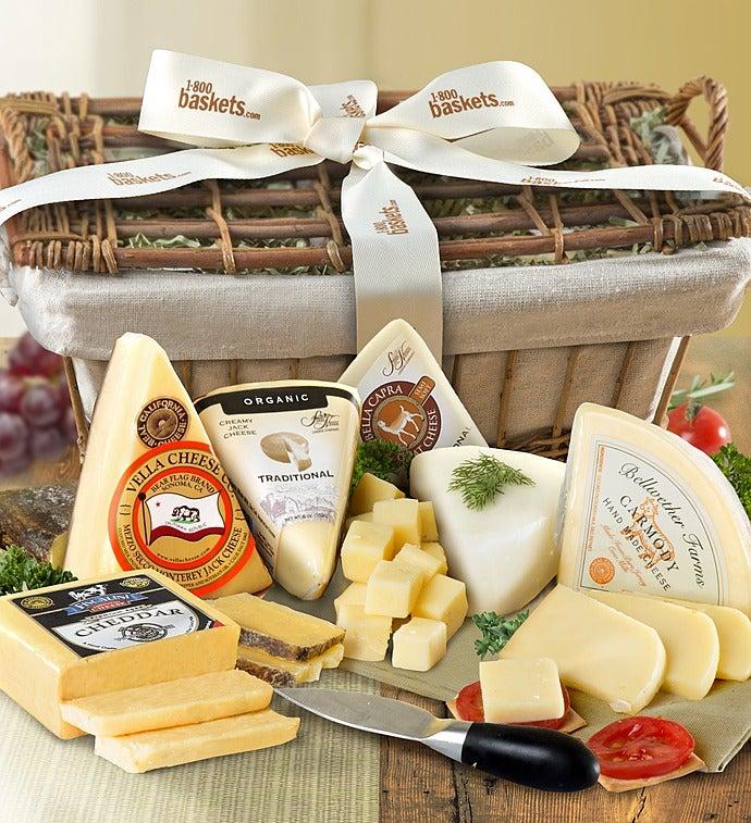 Premium Cheese Gift Basket