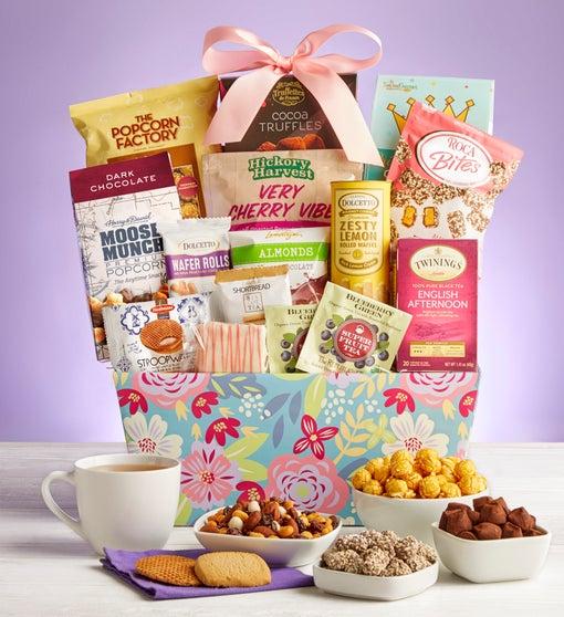 Blooming Delights Gift Basket