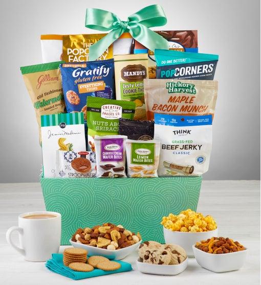 Snacks & Sweets Gift Basket