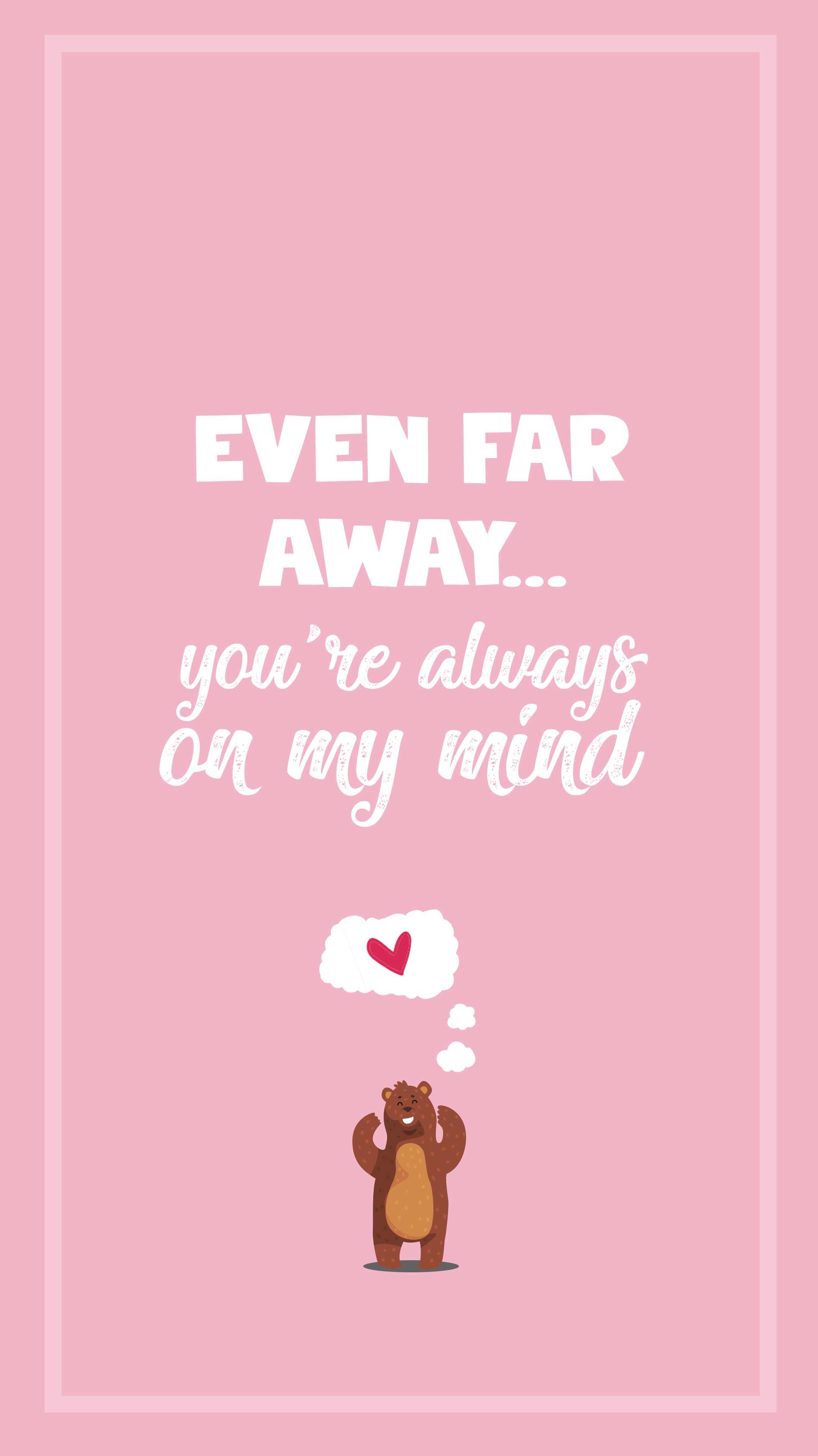 Even Far Away