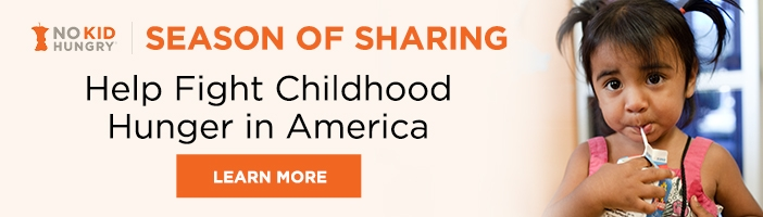 No Kid Hungry Season of Sharing Baskets