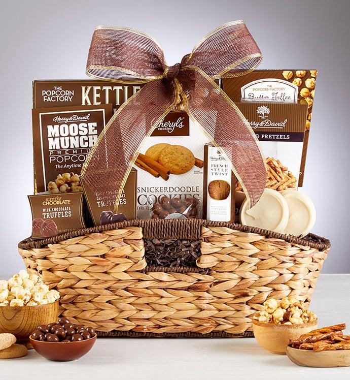 Premier Sweets & Treats Gift Basket