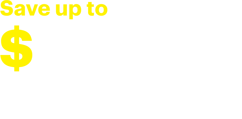 Save up to $1000 when you buy 2 or more major kitchen appliances