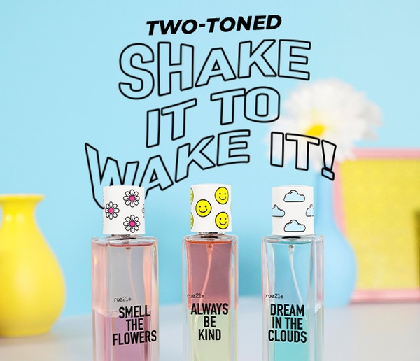 Shake it up & mix a mood that's totally you.