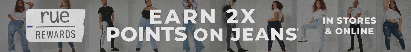 2x points on jeans | Become a member to save