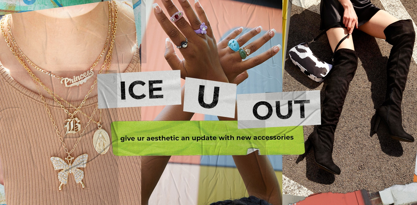 give ur aesthetic an update with new accessories