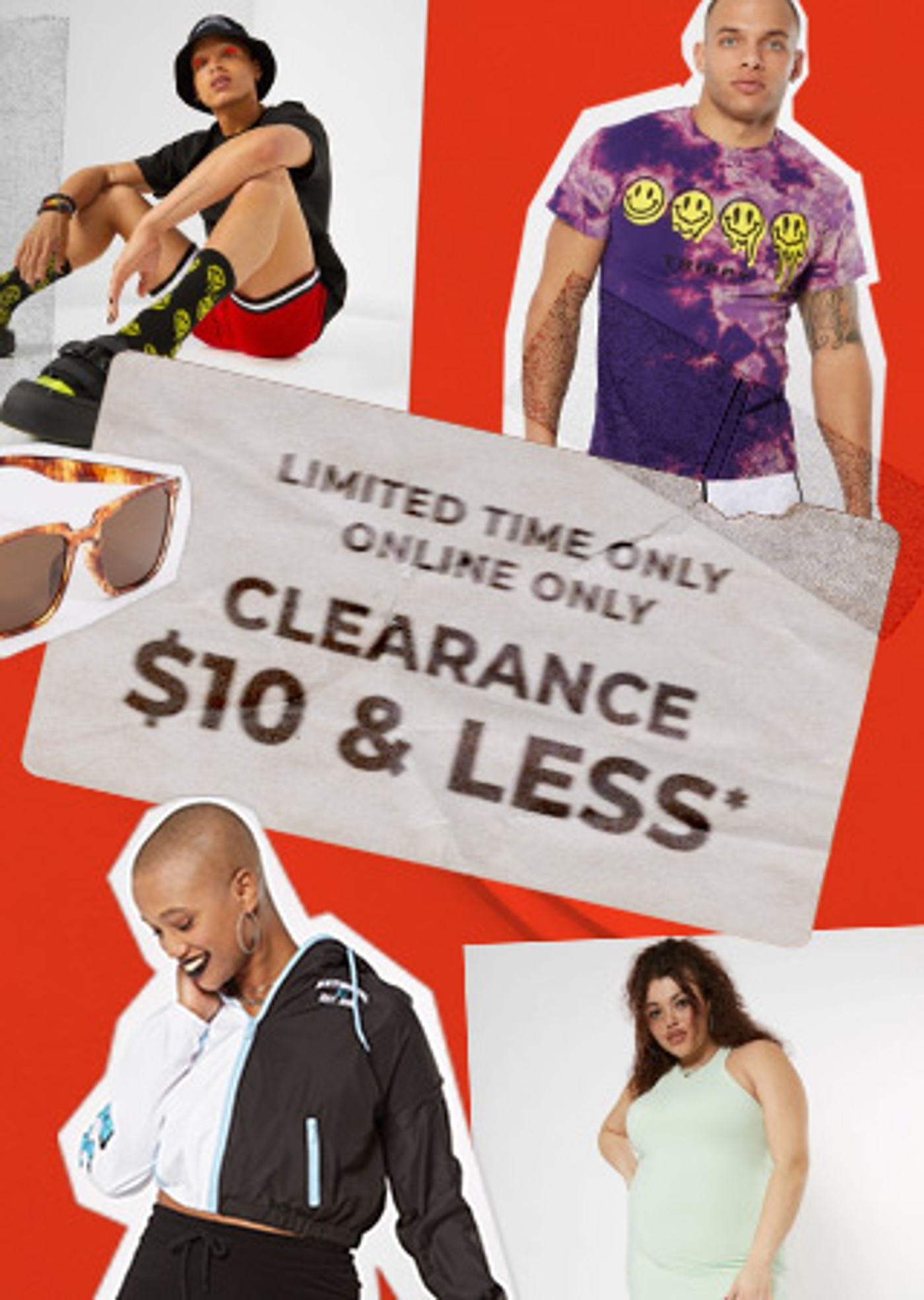 Clearance $10 & Less