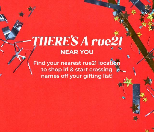 find a rue21 store