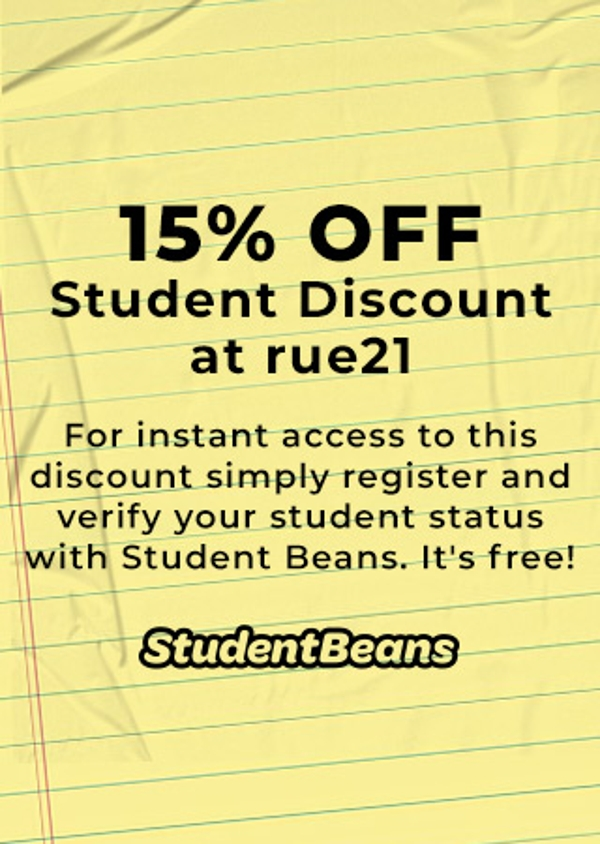 Student discount 15% off