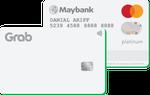 Maybank Grab Mastercard Platinum Credit Card (White)